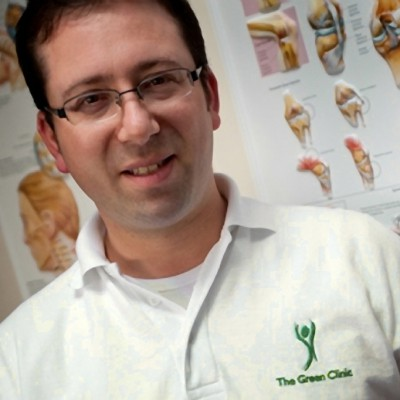 Green Clinic Physiotherapist Stephen Parkus